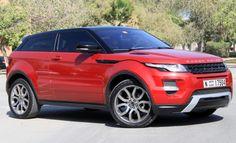 2012 Range Rover Evoque F3Q still