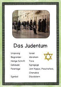 Weltreligionen Judentum