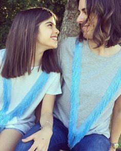 """Mi piace"": 64, commenti: 3 - DoDoÀ (@dodoa._) su Instagram: ""Franges Style X 2❣️💙 #tshirts #frange #frangestyle #minime #minimeshop #instamamme #instakids…"""