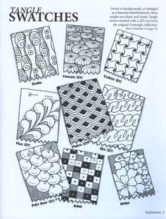 doll zentangle  | by Sandy Steen Bartholomew