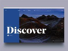 Travel Agency Landing Page by Zak Steele-Eklund