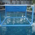 Pool Noodle Floating Cabana
