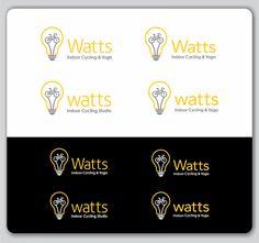 Desgin a high energy, clean logo for Watts indoor cycling by nila ambara*