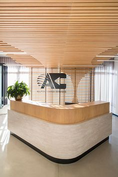 When leading supply chain management firm, Allport Cargo Services South Africa, sought to redesign the interiors of its Cape Town offices, it looked no further than award-winning design studio, Inhouse. Dental Office Design, Modern Office Design, Healthcare Design, Office Interior Design, Office Interiors, Modern Offices, Commercial Interior Design, Commercial Interiors, Office Reception Design