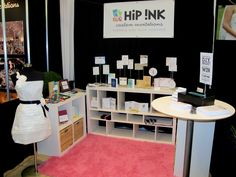 bridal show booth | Here's a peek at our booth setup ( featuring our paper wedding dress ...