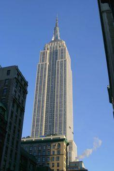 The Empire State Bldg. New York City, New York