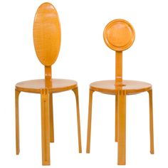 Pair of Side Chairs  Finland  circa 1960