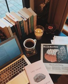 my little studyblr Study Desk, Study Space, Study Organization, Coffee And Books, Coffee Coffee, Book Aesthetic, Décor Boho, Study Hard, Study Notes