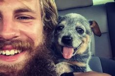 Heartwarming Reactions When Rescue Dogs Met Their Humans For The First Time-beautiful heeler pup Shelter Dogs, Rescue Dogs, Animal Shelter, Little Puppies, Dogs And Puppies, Doggies, Happy Photos, Best Friends For Life, Girl House