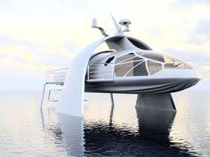 TRILOBITE SWATH Yacht design concept