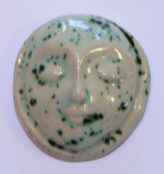 SPECKLED MOON DREAM Stone   Ceramic  by InnerArtPeace on Etsy, $8.00