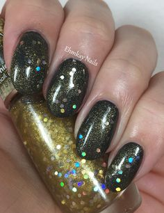 ehmkay nails: Impala Radiance and Sunshine Glitter Swatches