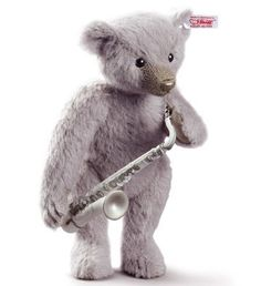 SAXOPHONE PLAYER TEDDY BEAR  Limited Edition 1000 pieces