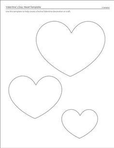 Todos os tamanhos | Molde de Feltro Corações | Flickr – Compartilhamento de fotos!