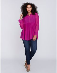 Babydoll Top | Lane Bryant