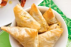 These crunchy potato filled triangles are always a party favourite.