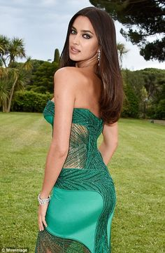 a27a60923d70 Gigi Hadid and Lara Stone wow in cleavage-baring gowns at amfAR gala