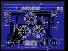 Omhoog Circuits, Tube, Audio, Valve Amplifier