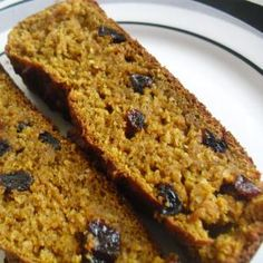 Easy Raisin Bread for Baby Made With Canned Pumpkin/ no raisin