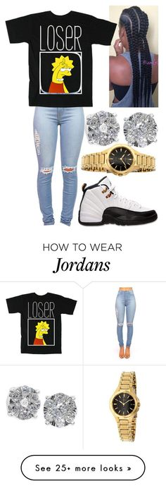 """Loser"" by ats-williams on Polyvore featuring Sessions, Effy Jewelry, Seiko and Retrò"
