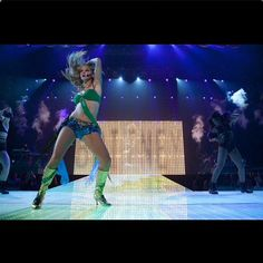 Glee Live 2011, that time Heather beat Britney at her own game. #GLEE