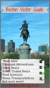 Boston Visitor Guide #Boston #Travel