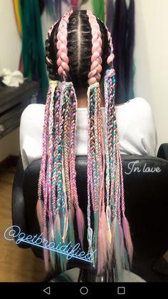 Hair Dye Colors, Cool Hair Color, Pretty Hairstyles, Braided Hairstyles, Rave Hair, Hair Cure, Natural Hair Styles, Curly Hair Styles, Festival Hair