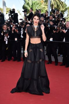 Kendall Jenner in Alaia | Slideshow: Cannes Film Festival 2015: See All The Best Looks