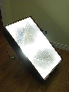DIY Spiderlight...SOFTBOX
