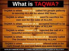 taqwa- constantly aware of both Allah ta'ala's presence and attributes Islam Hadith, Islam Muslim, Islam Quran, Alhamdulillah, Imam Ali Quotes, Allah Quotes, Hindi Quotes, Islamic Messages, Islamic Quotes