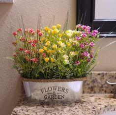 Diy Apartment Decor, Dollar Store Crafts, Dollar Tree, Display, Garden, Floral, Flowers, Plants, Floor Space
