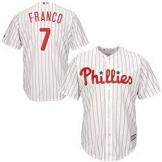 f621b3723 Maikel Franco Philadelphia Phillies Majestic Cool Base Player Jersey -  White