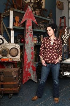 Danielle Colby of 'American Pickers' - Read More at AmericanProfile.com