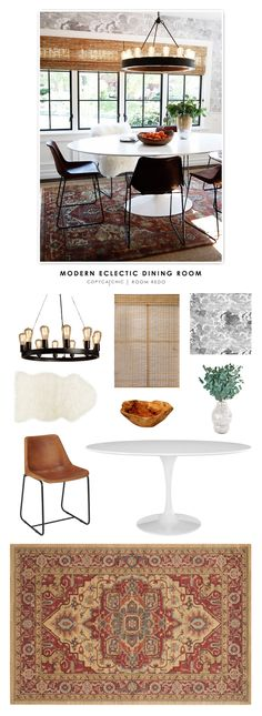 Copy Cat Chic: Copy Cat Chic Room Redo   Modern Eclectic Dining Room by @audreycdyer