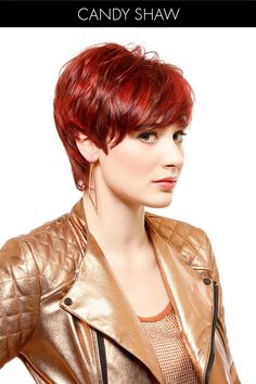 30 Alluring Hairstyles for Your Winter Wish List: ##3 Red Hot