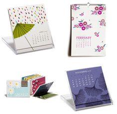 collection of 2012 calendar designs