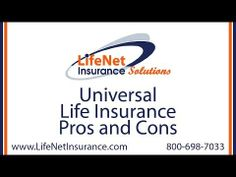 Universal Life Insurance Pros and Cons - One of the benefits of a universal life insurance policy is the flexibility available when structuring the policy.  There are indexed universal life insurance policies, variable universal policies, and guaranteed premium universal life insurance policies.  They each have their uses. (Read more)