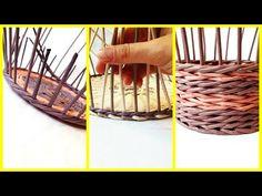 Как сделать аккуратный переход от дна к стенкам корзины! 3 способа! - YouTube