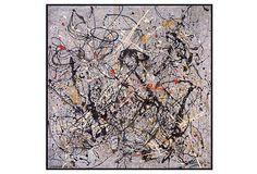 Jackson Pollock, Number 18, 1950 on OneKingsLane.com