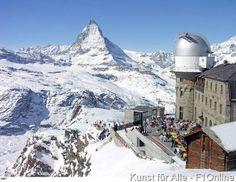 Architektur,Menschen,Matterhorn,Zermatt,Winter,Wallis,Schweiz,Europa,Berg,Natur,Observatorium,Bergsicht,Aussicht,Bergrestaurant,