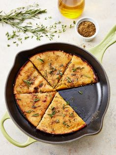 The Chickpea-Flour Flatbread We're Obsessed With | Kitchn