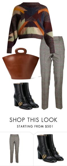 """""""krata"""" by getdressedwithme on Polyvore featuring moda, Ermanno Scervino, Gucci i Isabel Marant"""
