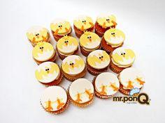 Cup-cakes pollitos. Mr.ponQ