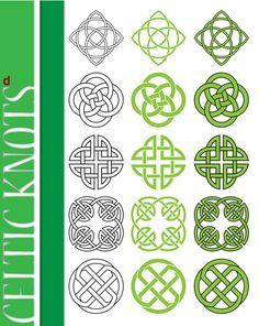 celtic knots. Norse block. Form drawing.