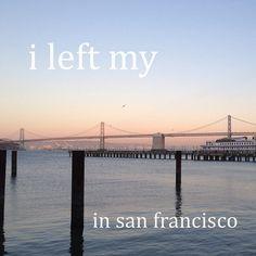 Left your heart in San Francisco? Same here!   [Instagram doubletap]