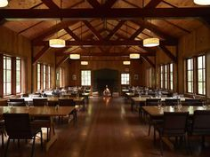 Silver Falls Lodge big leaf dining hall - amazing indoor and outdoor areas, all a dream space! Expensive, especially drink service . Wedding Venues Oregon, Cheap Wedding Venues, Wedding Reception Locations, Lodge Wedding, Fall Wedding, Dream Wedding, Meeting Venue, Silver Falls, Medieval Wedding