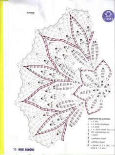 World crochet: Napkin 551 Crochet Edging Patterns Free, Crochet Stitches Chart, Crochet Doily Diagram, Filet Crochet, Crochet Motif, Crochet Dollies, Crochet Art, Crochet Home, Thread Crochet