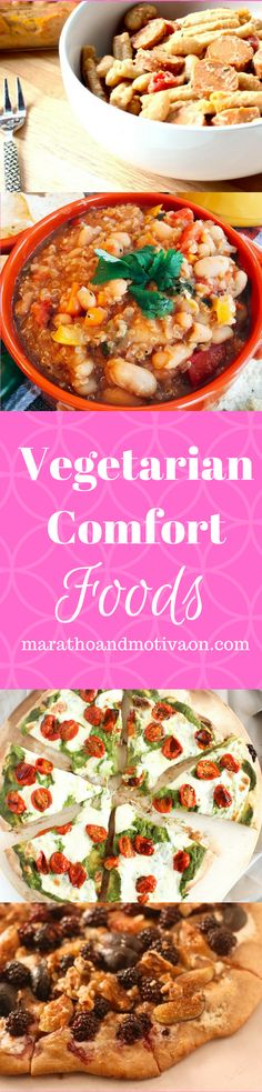 Vegetarian Comfort Food: The BEST Vegetarian and Vegan Recipes for a family dinner | Soup | Pot Pie | Macaroni | Chili | Pasta