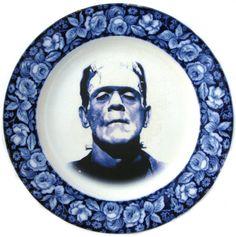 Frankenstein Plate #kitchen