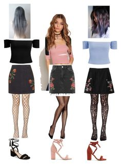 """""""KC 17"""" by barbieboice on Polyvore featuring Hanes, Leg Avenue, Topshop, BP. and Raye"""